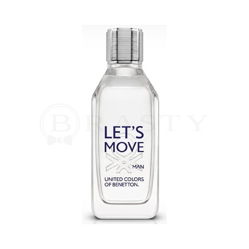 Benetton Let´s Move Eau de Toilette bărbați 100 ml Tester