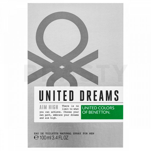 Benetton United Dreams Aim High Eau de Toilette bărbați 100 ml
