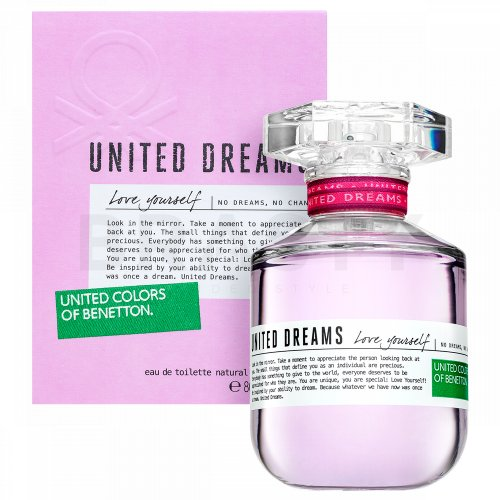 Benetton United Dreams Love Yourself Eau de Toilette femei 80 ml