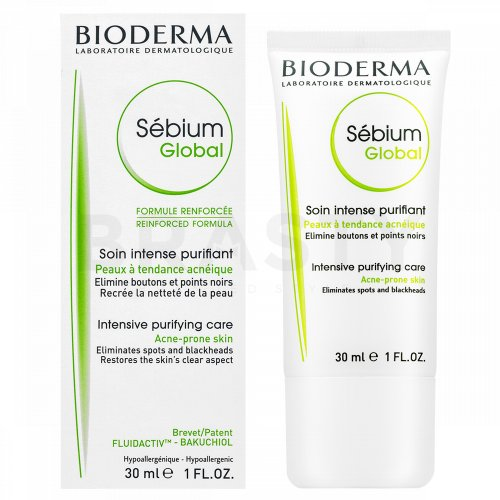 Bioderma Sébium Global Care Acne-Prone Skin Hautgel für problematische Haut 30 ml