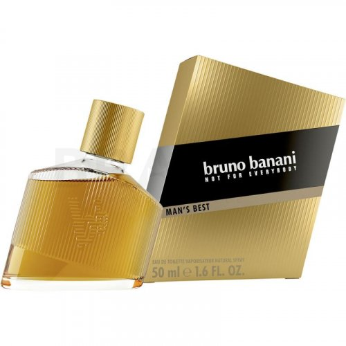 Bruno Banani Man's Best Eau de Toilette bărbați 50 ml