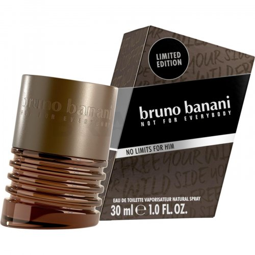 Bruno Banani No Limits For Him Eau de Toilette bărbați 30 ml