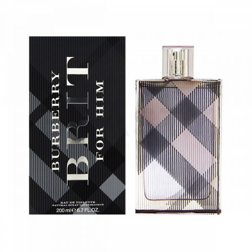 Burberry Brit Men Eau de Toilette für Herren 200 ml