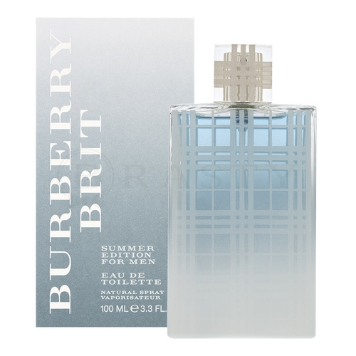 Burberry Brit Men Summer 2012 Eau de Toilette bărbați 100 ml