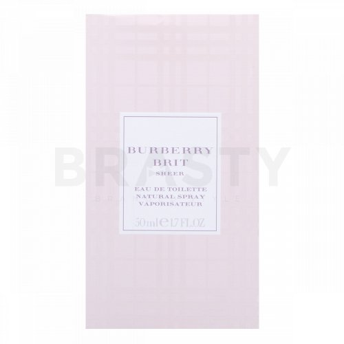 Burberry Brit Sheer Eau de Toilette für Damen 50 ml