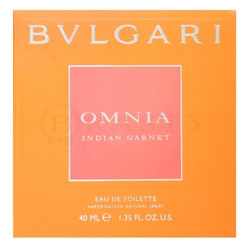 Bvlgari Omnia Indian Garnet Eau de Toilette für Damen 40 ml