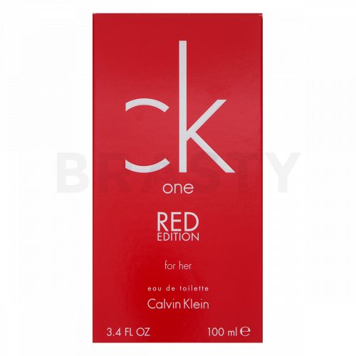 Calvin Klein CK One Red Edition for Her Eau de Toilette für Damen 100 ml