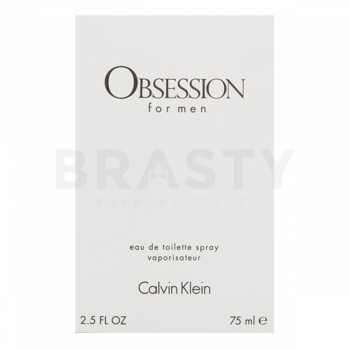 Calvin Klein Obsession for Men Eau de Toilette für Herren 75 ml