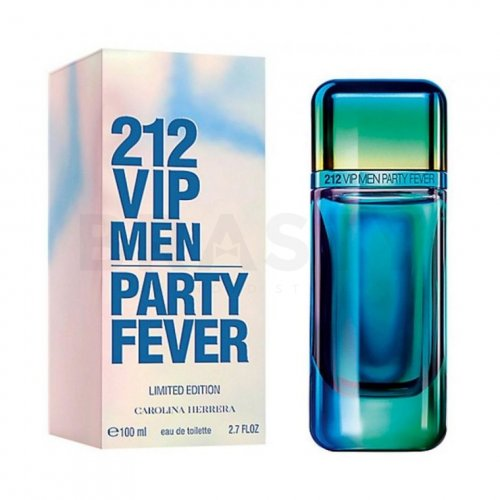 Carolina Herrera 212 VIP Men Party Fever Eau de Toilette für Herren 100 ml