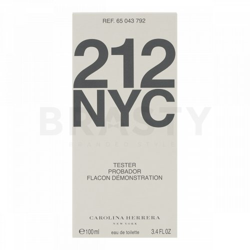 Carolina Herrera 212 Women Eau de Toilette femei 100 ml Tester