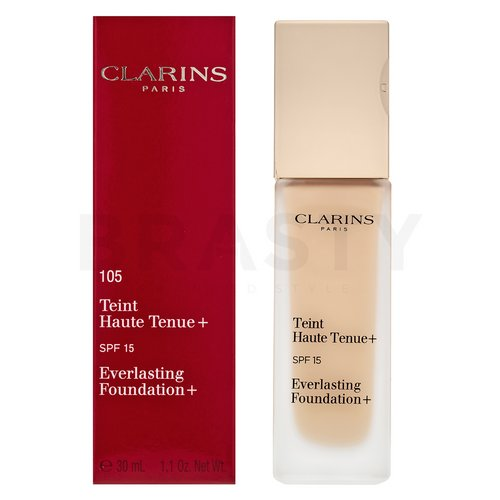 Clarins Everlasting Foundation+ 105 Nude langanhaltendes Make-up 30 ml