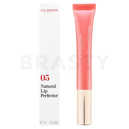 Clarins Natural Lip Perfector 05 Candy Shimmer lesk na rty s perleťovým leskem 12 ml