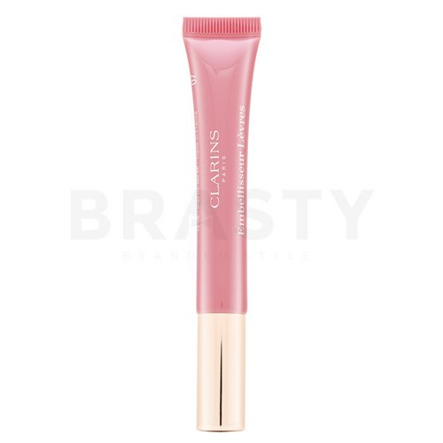Clarins Natural Lip Perfector 07 Toffee Pink Shimmer lesk na rty s perleťovým leskem 12 ml