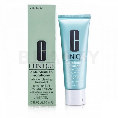 Clinique Anti-Blemish Solutions All-Over Clearing Treatment Pflegende Creme für Unregelmäßigkeiten der Haut 50 ml