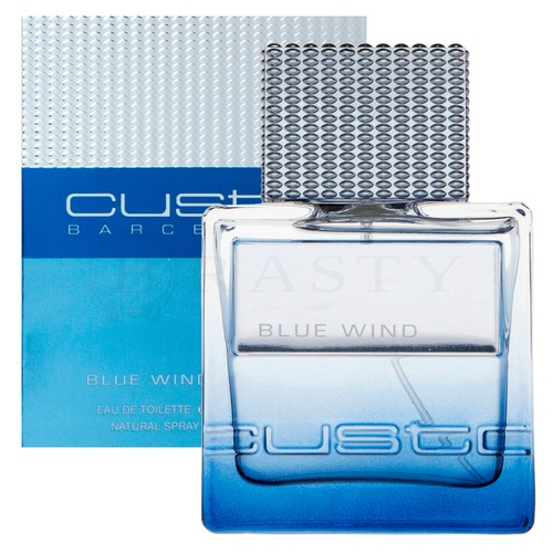 Custo Barcelona Blue Wind Eau de Toilette für Herren 50 ml