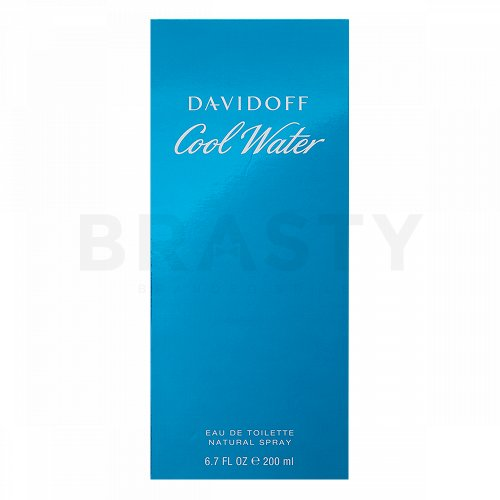 Davidoff Cool Water Man Eau de Toilette für Herren 200 ml