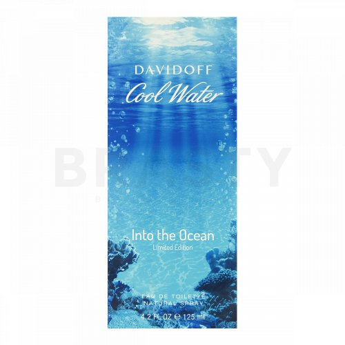 Davidoff Cool Water Man Into The Ocean Eau de Toilette férfiaknak 125 ml