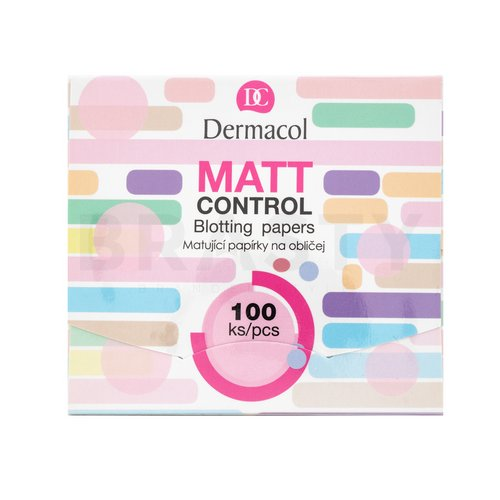 Dermacol Matt Control Blotting Papers 100 pcs Mattierende Tücher