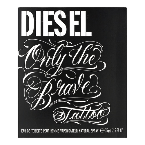 Diesel Only The Brave Tattoo Eau de Toilette für Herren 75 ml