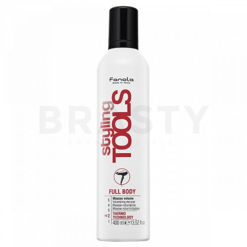 Fanola Styling Tools Full Body Volumizing Mousse Schaumfestiger für Haarvolumen 400 ml