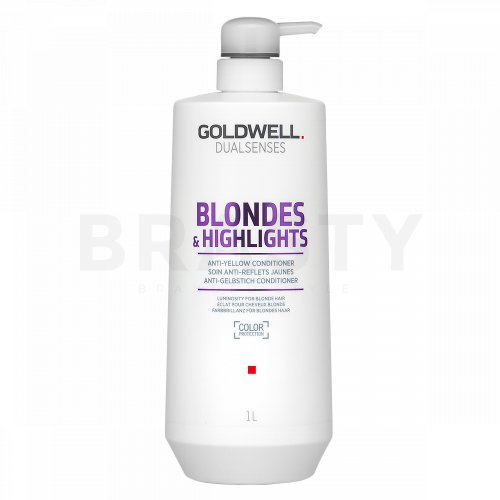 Goldwell Dualsenses Blondes & Highlights Anti-Yellow Conditioner balsam pentru păr blond 1000 ml