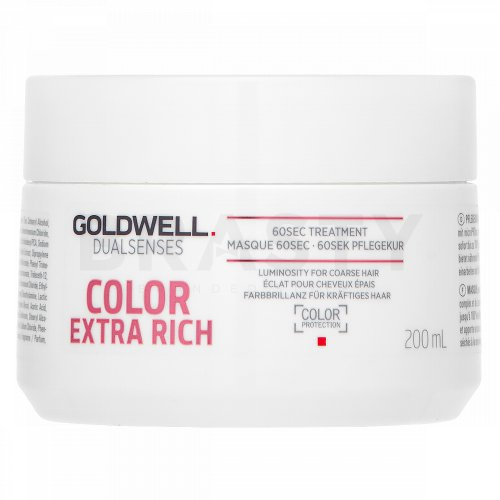 Goldwell Dualsenses Color Extra Rich 60sec Treatment maska pro barvené vlasy 200 ml