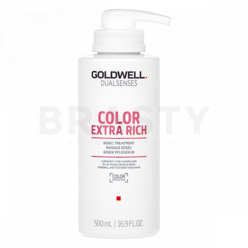 Goldwell Dualsenses Color Extra Rich 60sec Treatment maska pro barvené vlasy 500 ml