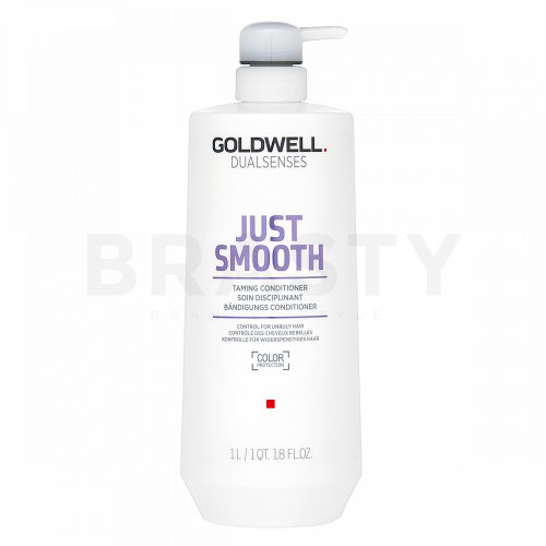 Goldwell Dualsenses Just Smooth Taming Conditioner balsam pentru netezire pentru păr indisciplinat 1000 ml