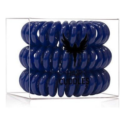 HH Simonsen Hair Cuddles 3 pcs Haargummi Dark Blue