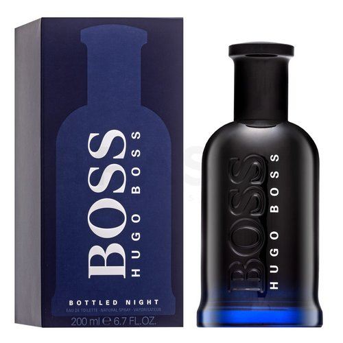 Hugo Boss Boss No.6 Bottled Night Eau de Toilette bărbați 200 ml