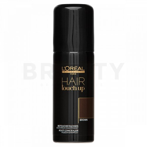 L´Oréal Professionnel Hair Touch Up korektor na odrasty farbených vlasov Brown 75 ml
