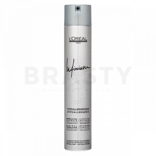 L´Oréal Professionnel Infinium Infinium Pure Extra Strong lak na vlasy pro extra silnou fixaci 500 ml