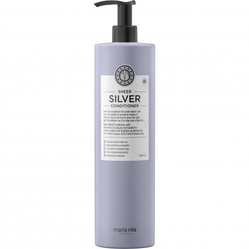 Maria Nila Sheer Silver Conditioner pflegender Conditioner für platinblondes und graues Haar 1000 ml