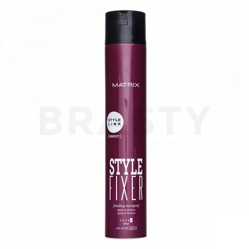 Matrix Style Link Perfect Style Fixer Finishing Hairspray lakier do włosów silne utrwalenie 400 ml