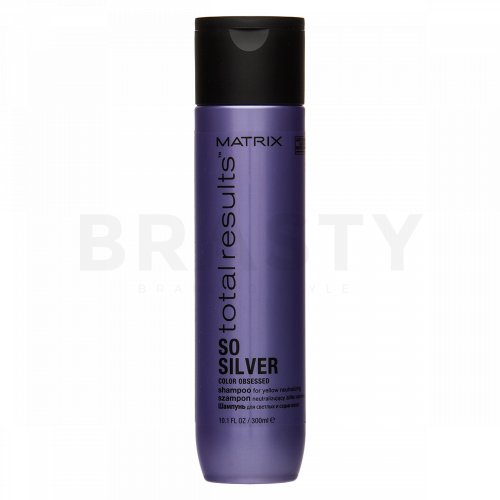 Matrix Total Results Color Obsessed So Silver Shampoo šampon pro platinově blond a šedivé vlasy 300 ml