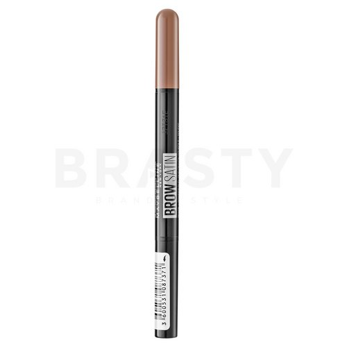 Maybelline Brow Satin Dark Blond creion sprâncene 2in1 9 g
