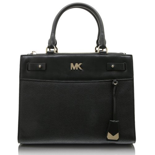 Michael Kors Reagan leather handbag tote black