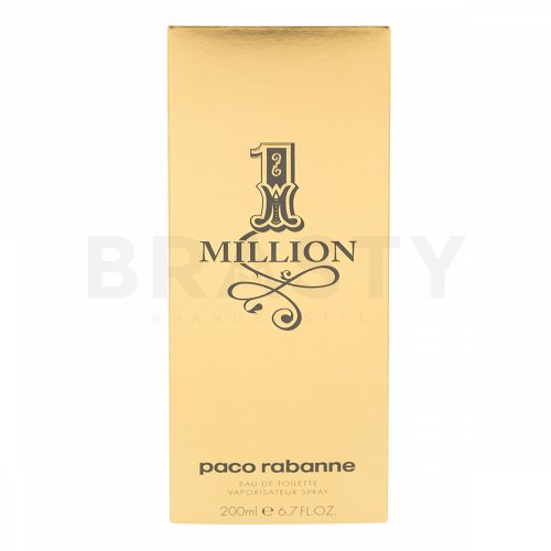Paco Rabanne 1 Million Eau de Toilette für Herren 200 ml