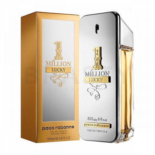 Paco Rabanne 1 Million Lucky Eau de Toilette for men 200 ml