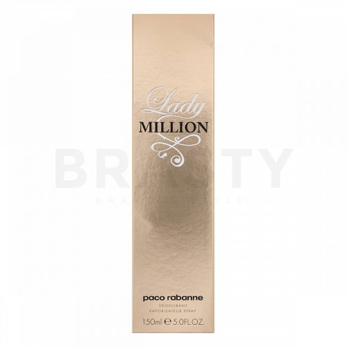 Paco Rabanne Lady Million Deospray für Damen 150 ml