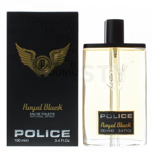 Police Royal Black Eau de Toilette für Herren 100 ml