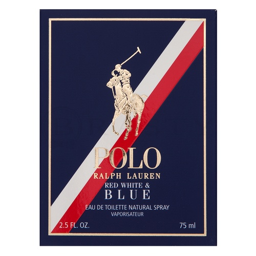 Ralph Lauren Polo Red White & Blue Eau de Toilette für Herren 75 ml