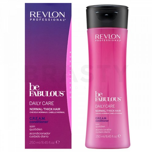 Revlon Professional Be Fabulous Normal/Thick C.R.E.A.M. Conditioner balsam pentru întărire par normal si des 250 ml