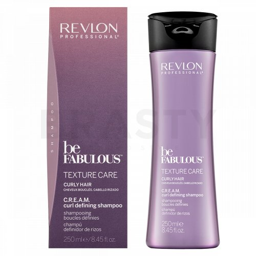 Revlon Professional Be Fabulous Texture Care C.R.E.A.M. Curl Defining Shampoo Shampoo für lockiges und krauses Haar 250 ml