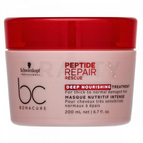 Schwarzkopf Professional BC Bonacure Peptide Repair Rescue Deep Nourishing Treatment maska do włosów zniszczonych 200 ml