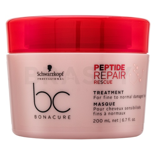 Schwarzkopf Professional BC Bonacure Peptide Repair Rescue Treatment mască pentru păr deteriorat 200 ml