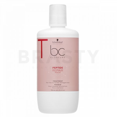 Schwarzkopf Professional BC Bonacure Peptide Repair Rescue Treatment mască pentru păr deteriorat 750 ml