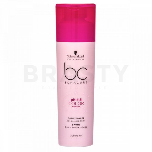 Schwarzkopf Professional BC Bonacure pH 4.5 Color Freeze Conditioner balsam pentru păr vopsit 200 ml