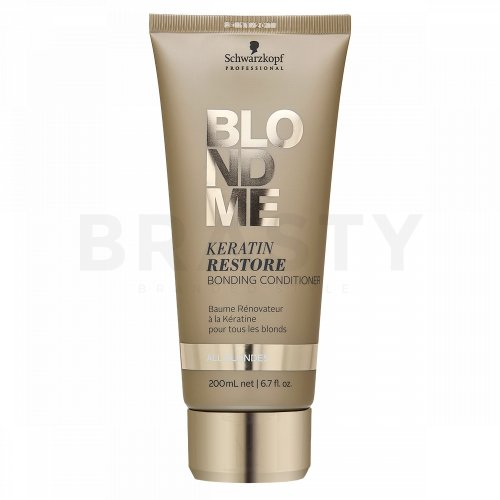 Schwarzkopf Professional BlondMe Keratin Restore Bonding Conditioner balsam pentru păr blond 200 ml
