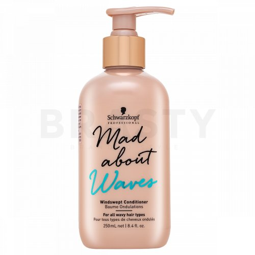 Schwarzkopf Professional Mad About Waves Windswept Conditioner pflegender Conditioner für lockiges und krauses Haar 250 ml